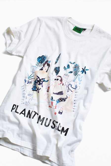 Plant Museum Uo Exclusive Plant Room Tee
