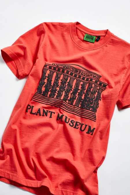Plant Museum UO Exclusive Drawn Museum Tee