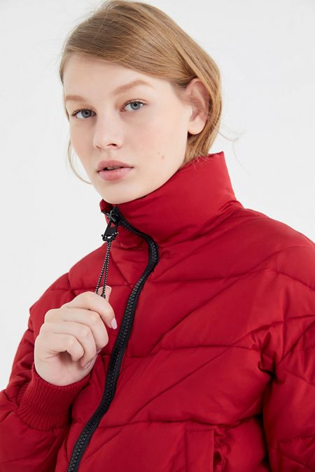 UO Quilted Cropped Puffer Jacket a75191b883