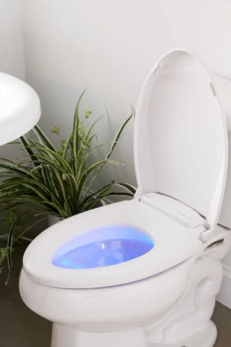 Brondell LumaWarm Heated Nightlight Toilet Seat