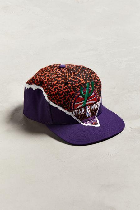 Purple. Mitchell   Ness  95 NBA All Star Tear It Up Snapback Hat a852ec9d60a