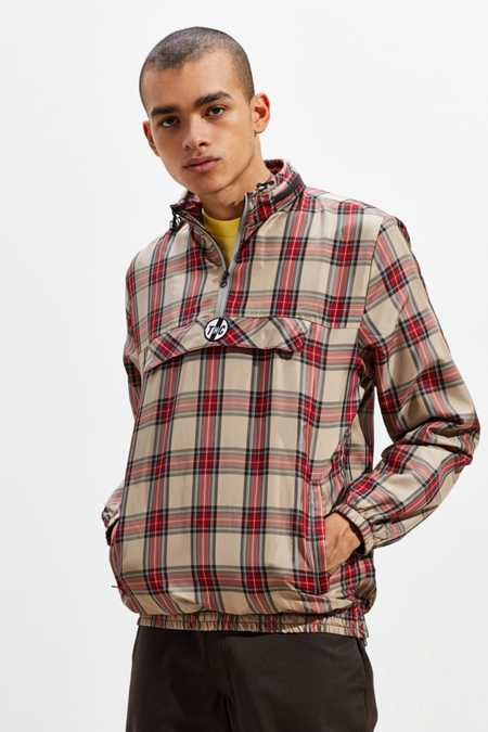 Tango Hotel Bentley Plaid Quarter-Zip Jacket