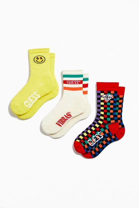 GUESS X J Balvin Vibras Sock 3-Pack c8daa089c01
