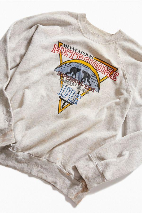 Vintage Super Bowl XXVI Crew-Neck Sweatshirt  d767fa157