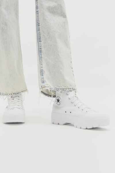Converse Chuck Taylor All Star Lugged High Top Sneaker In White