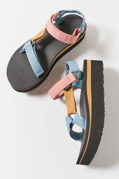 Teva Women's Flatform Universal Sandals Women's Shoes In Multi