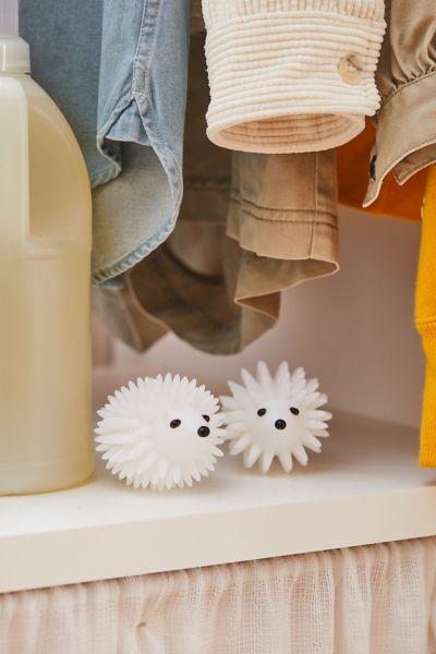 Kikkerland Design Hedgehog Dryer Buddy Set In White